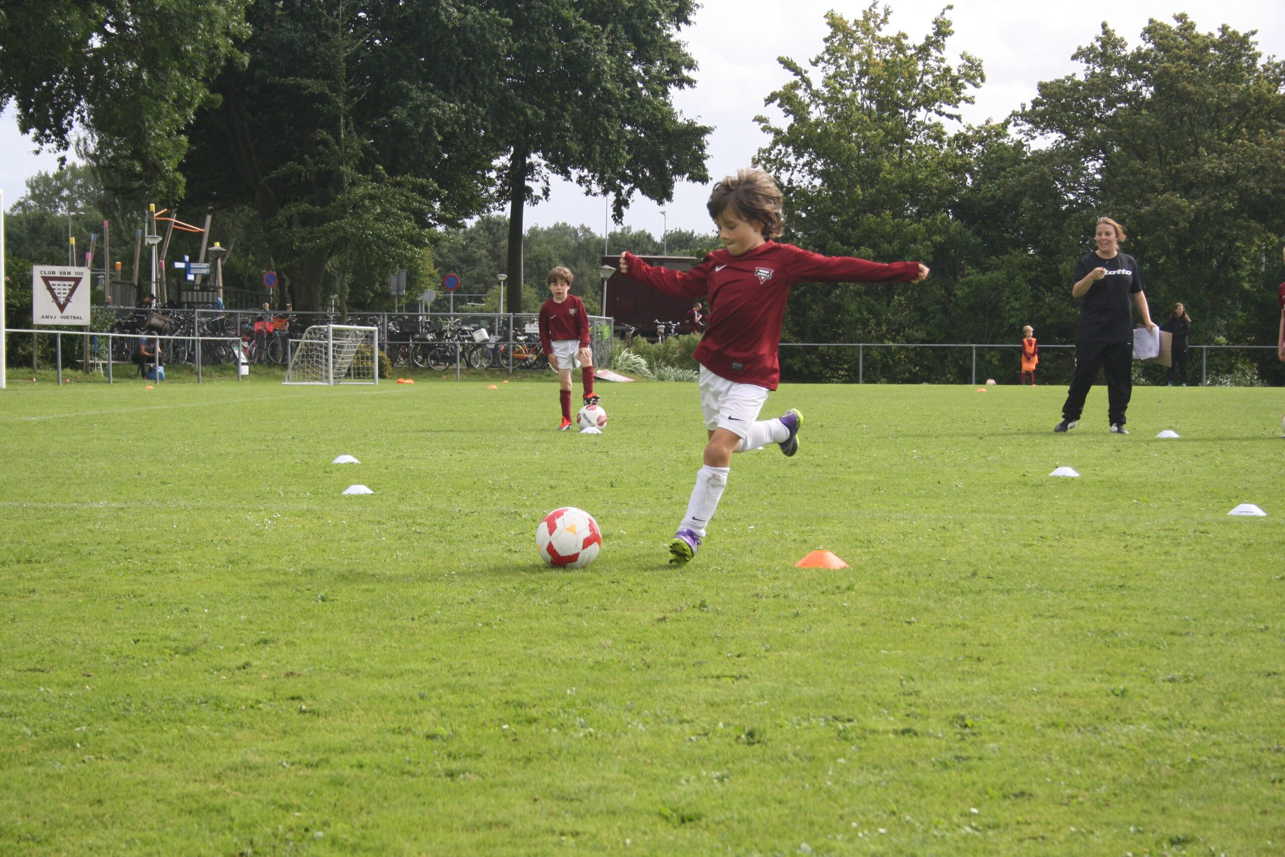 AMVJ Voetbalkamp